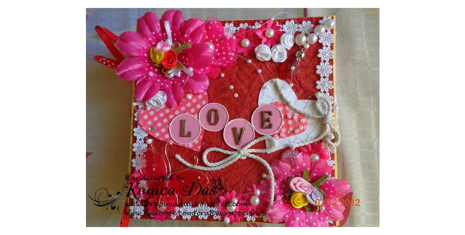 "Extrêmement Love you lots"" Scrapbook Album. | My life in creating memories!!! MF33"