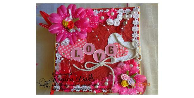 love you lots scrapbook album