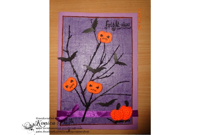 pumpkin patch halloween card1